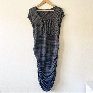 Liz Lange maternity gray dress size large